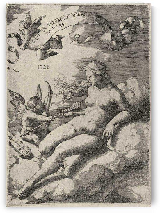 Venus and Cupid by Lucas van Leyden