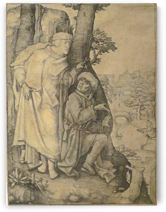 Susanna and the Elders by Lucas van Leyden