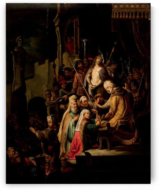 Christ before Pilatus by Lucas van Leyden