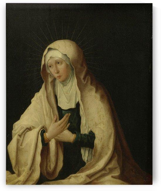The Virgin Mary by Lucas van Leyden