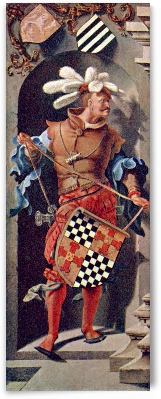 Portrait of Jacob Florisz van Montfort by Lucas van Leyden