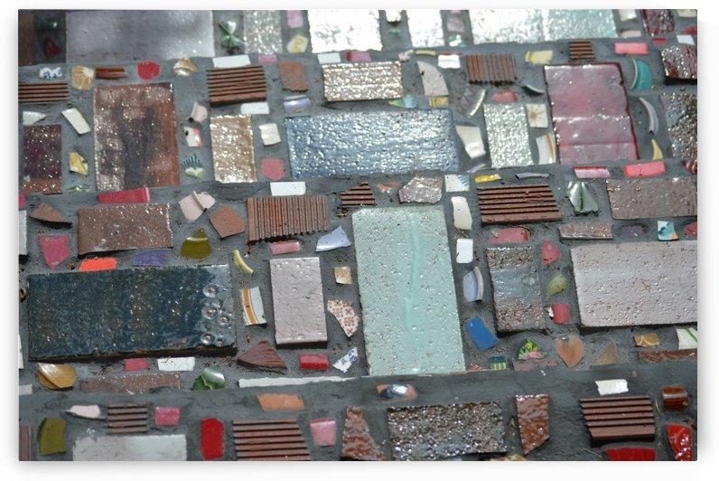 Mosaic Steps by Digitalu Photography