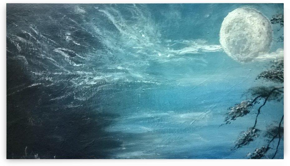moon aura by Ahmad ALMASRI