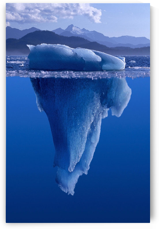 Tip Of The Iceberg Digital Composite by PacificStock