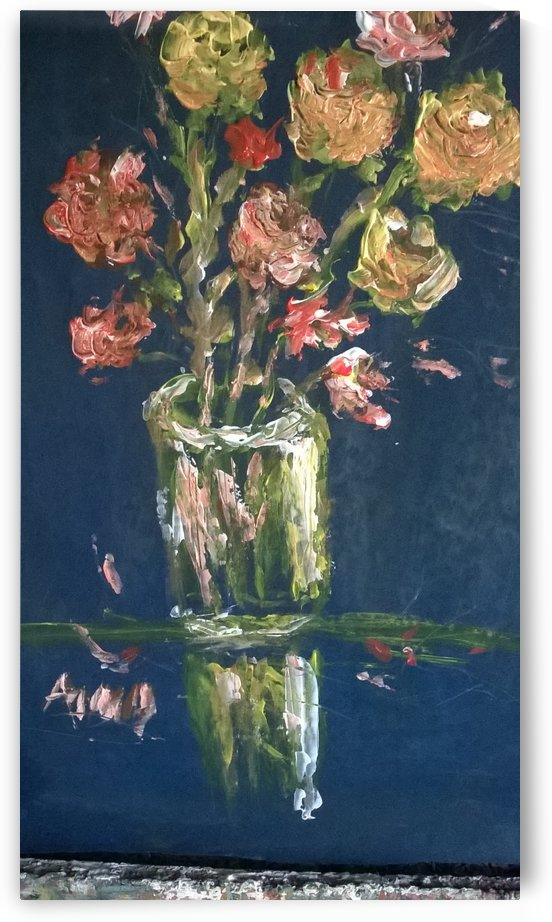 reflection vase by Ahmad ALMASRI