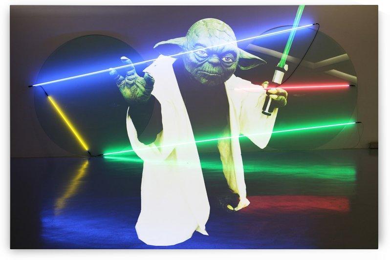 Laser Yoda by Carine Dito