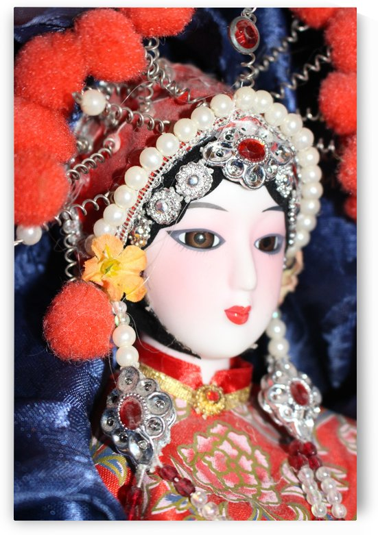 Peking Opera Doll by Carine Dito
