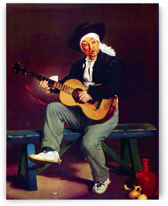 Spanish singer by Manet by Manet