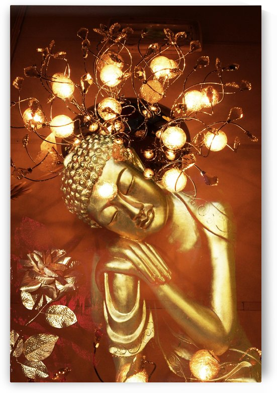 Golden Buddha by Carine Dito