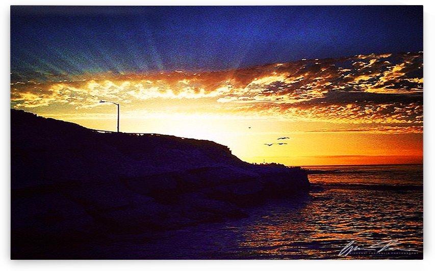 Rays Over The Cove  by Giovanni Tartaglia