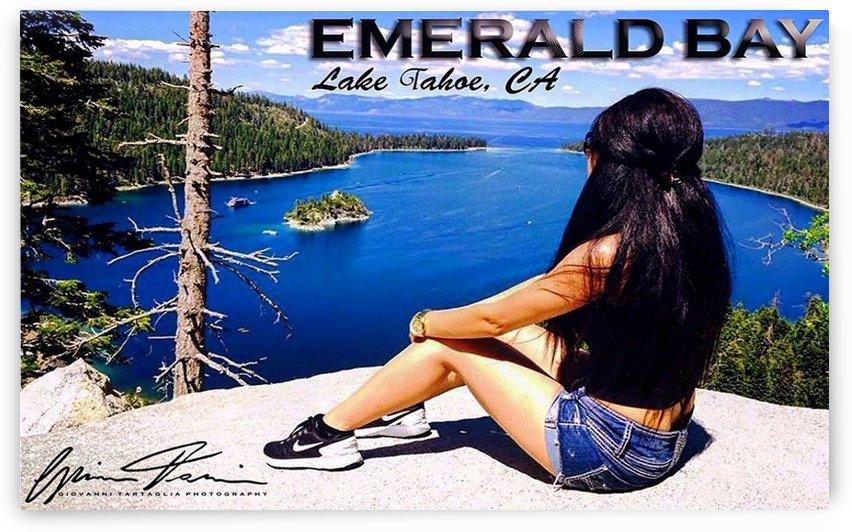 Emerald Bay in Lake Tahoe by Giovanni Tartaglia