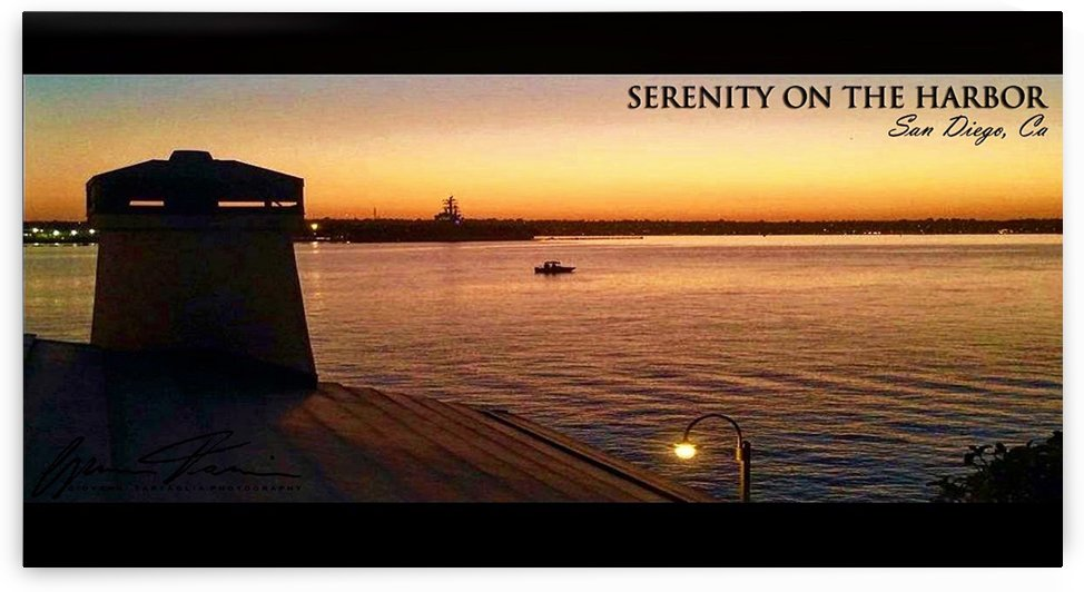 Serenity On The Harbor by Giovanni Tartaglia