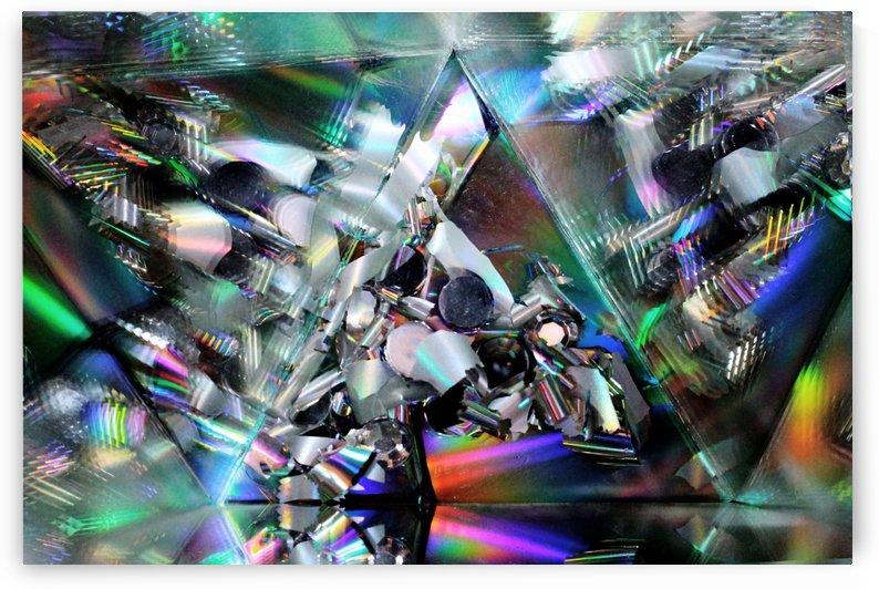 Rainbow Pyramid by Carine Dito