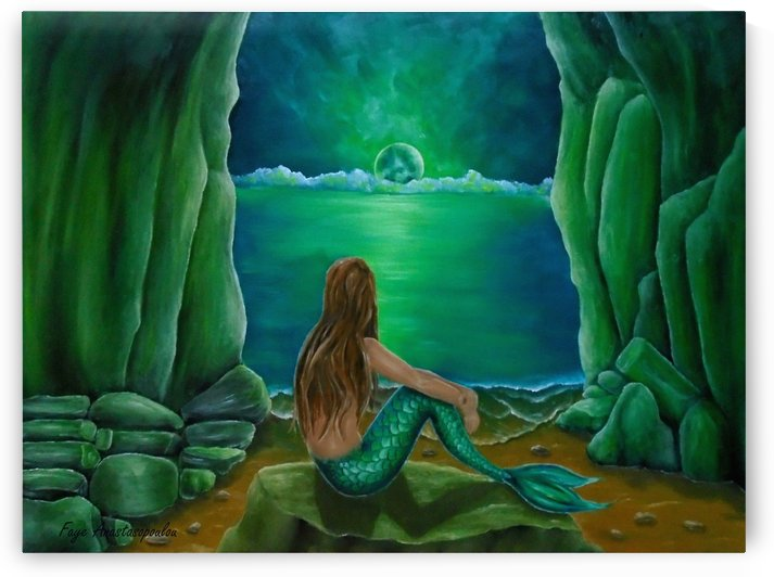 Mermaid's Cave by Fotini Anastasopoulou