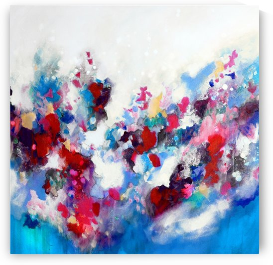 Strata (Blue Red) by Tracy-Ann Marrison