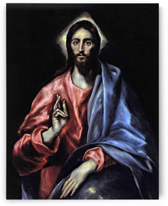 Christ as Saviour by El Greco