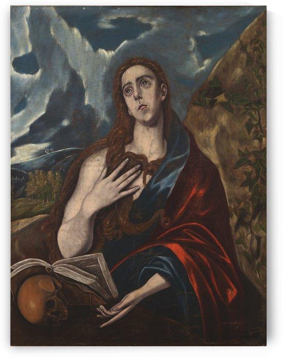 Mary Magdalen by El Greco
