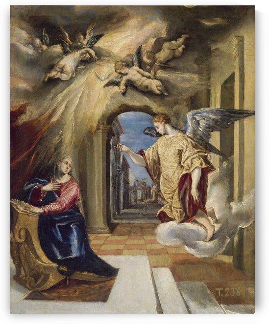1572, The Annunciation by El Greco