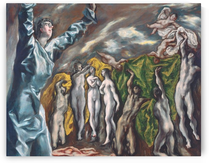 The Vision of Saint John by El Greco