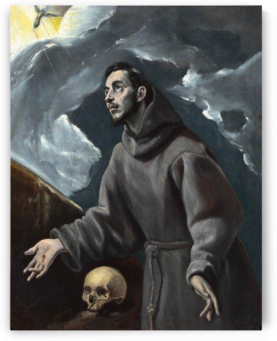 The Stigmatization of Saint Francis by El Greco