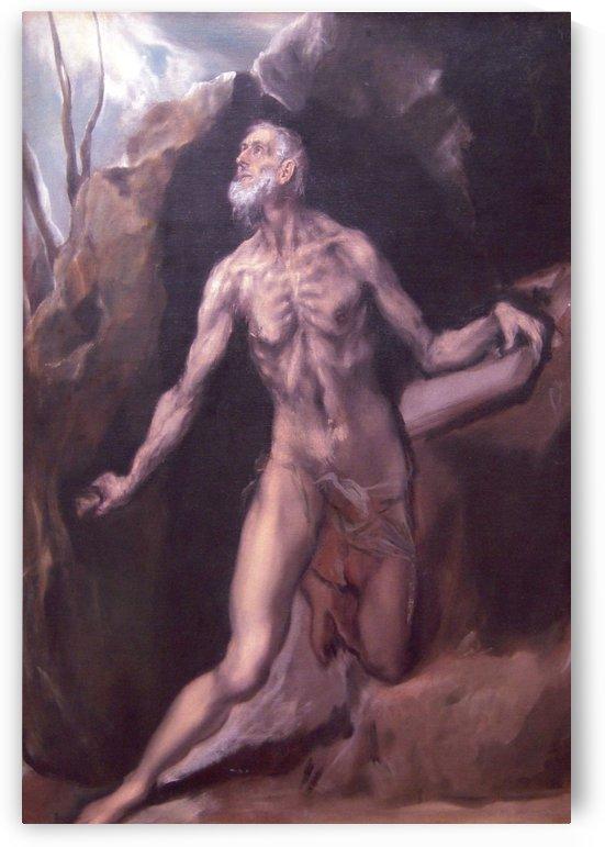 Saint Jerome, 1610 by El Greco