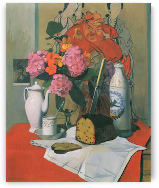 Still life by Felix Vallotton by Felix Vallotton