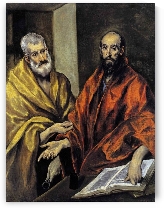 Saints Peter and Paul by El Greco