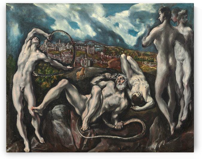 Laocoon by El Greco