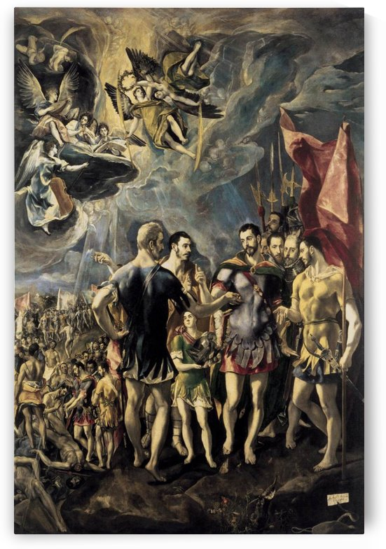 The Martyrdom of St Maurice by El Greco
