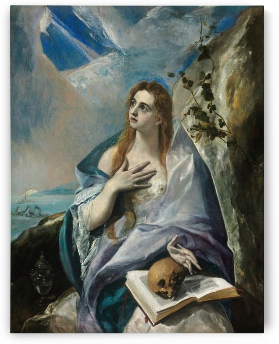 Mary Magdalen in Penitence by El Greco