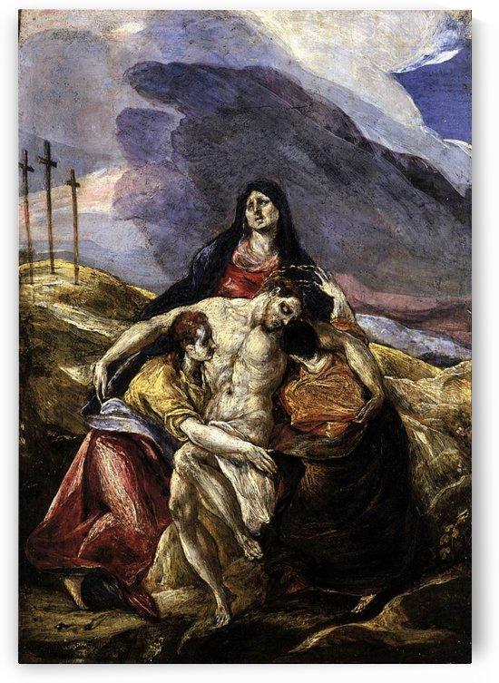 The Pieta by El Greco