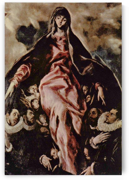 Madonna della Carita by El Greco