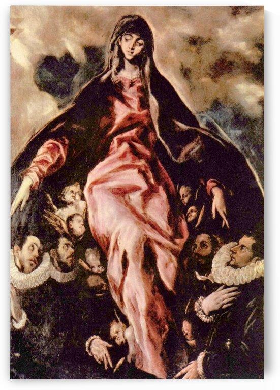 The Virgin of Mercy by El Greco
