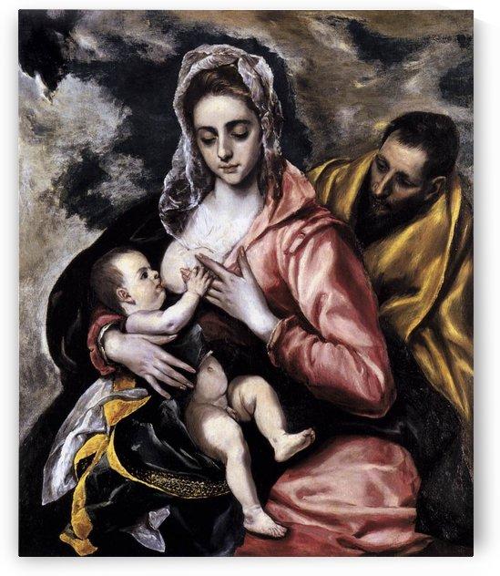 La Sagrada Familia by El Greco