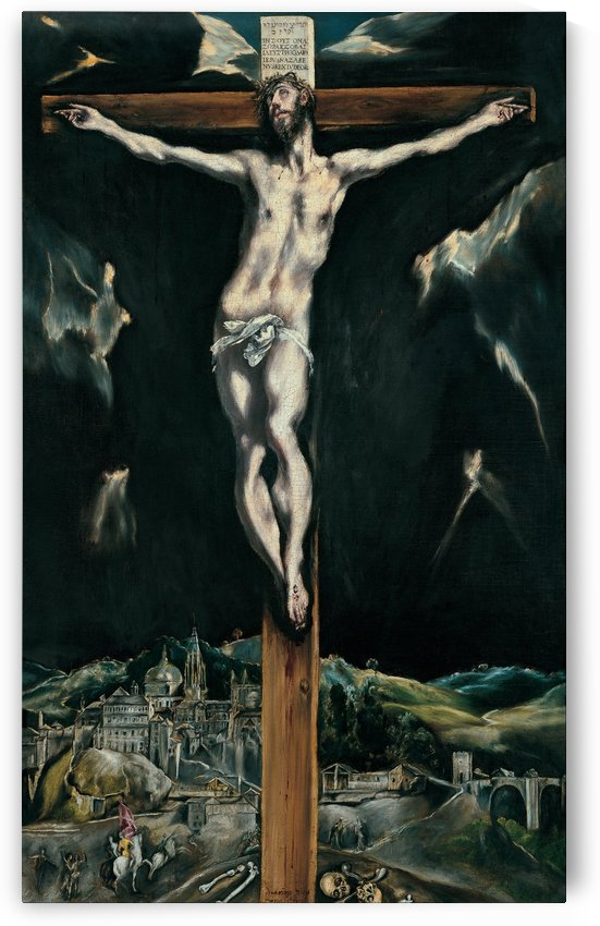 Crucifixion of Christ by El Greco