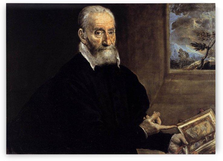Portrait of Giorgio Giulio Clovio by El Greco