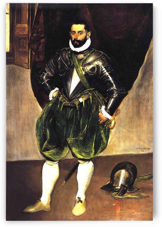 Vincenzo Anastagi by El Greco
