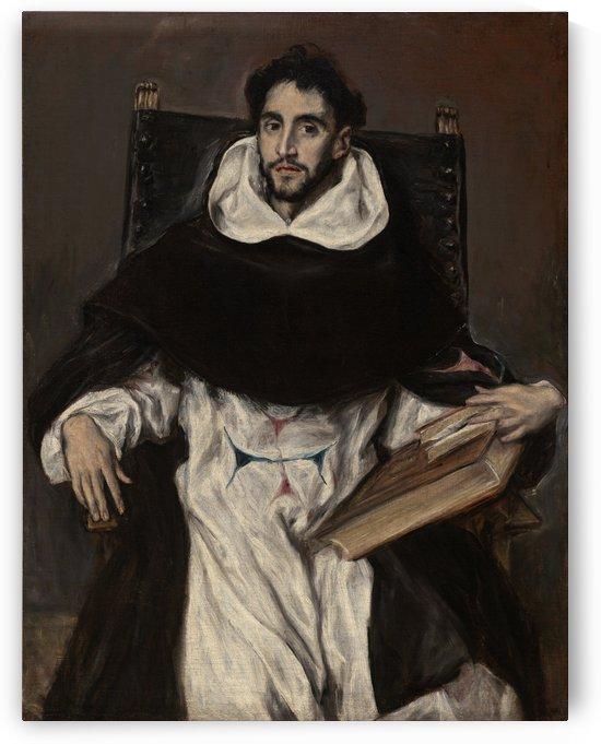 Portrait of Felix Hortensio Paravicino by El Greco