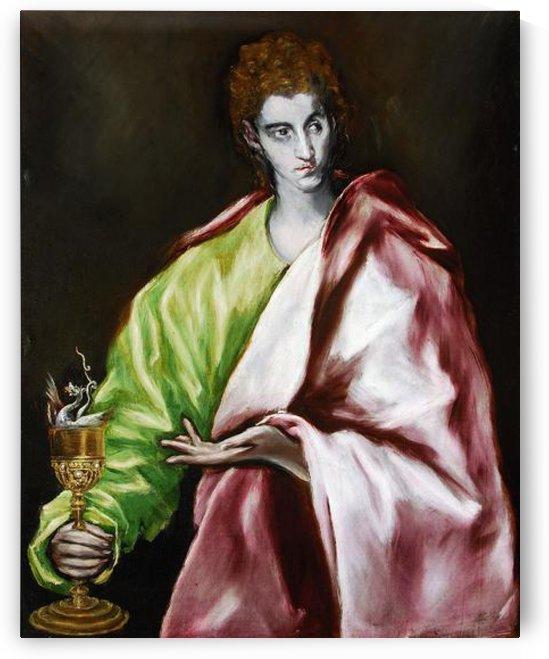 Apostle St John the Evangelist by El Greco