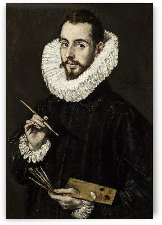 Portrait of Jorge Manuel Theotocopoulos by El Greco