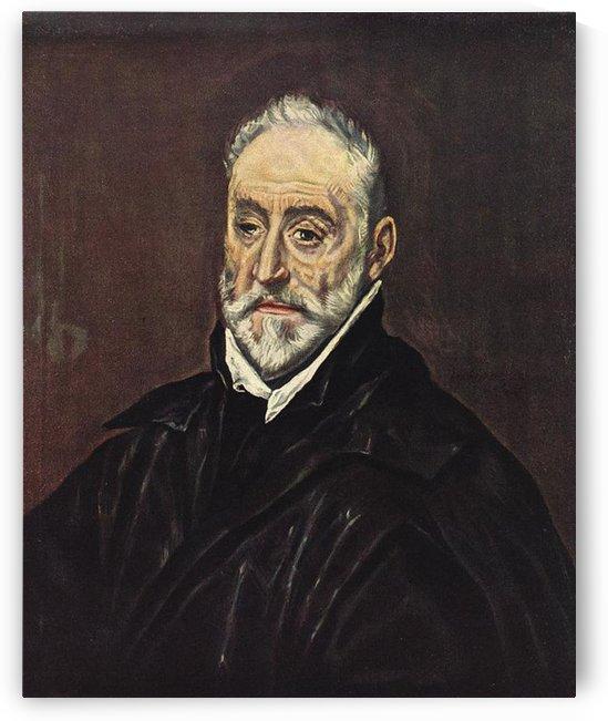 Portrait of Antonio Covarrubias by El Greco