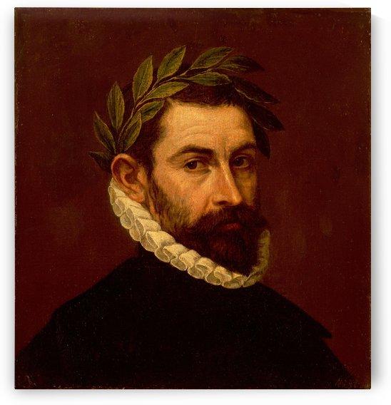 Portrait of the Poet Alonso Ercilla y Zuniga by El Greco
