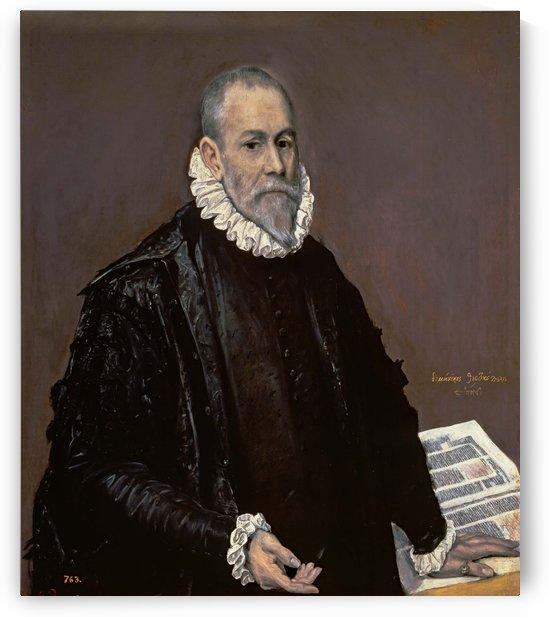 Portrait of Doctor Rodrigo de la Fuente by El Greco