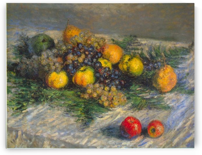 Still Life by Monet by Monet