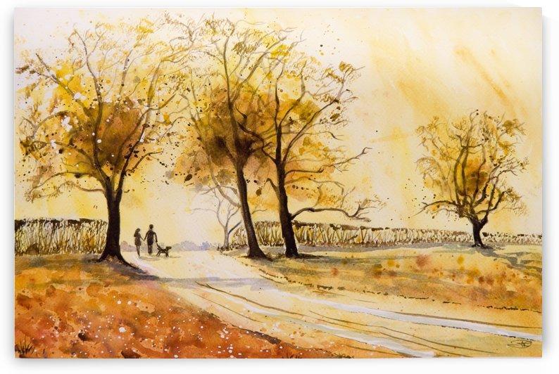A Walk at Sunrise by ClosetPainter