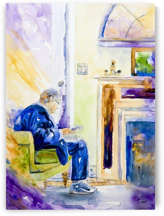 Letter for Grandma  by Hammond Fine Art