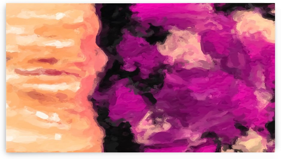 psychedelic splash painting abstract texture in pink purple black by TimmyLA