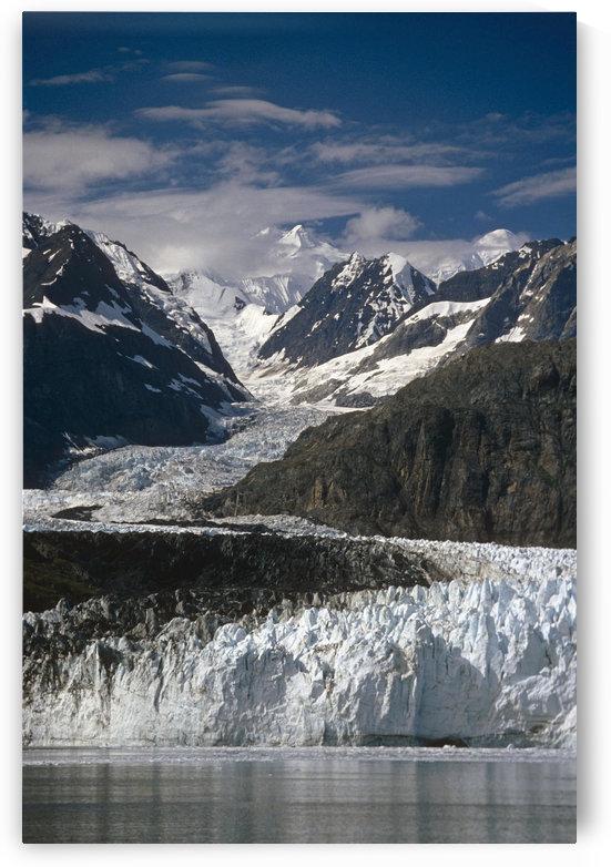 Ak Southeast Glacier Bay Natl Park Margerie Glacier Tarr Inlet Summer Scenic Mountains by PacificStock