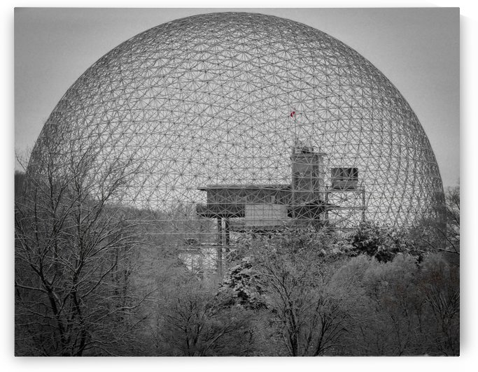 Expo 67 - The dome! by Philippe Collard