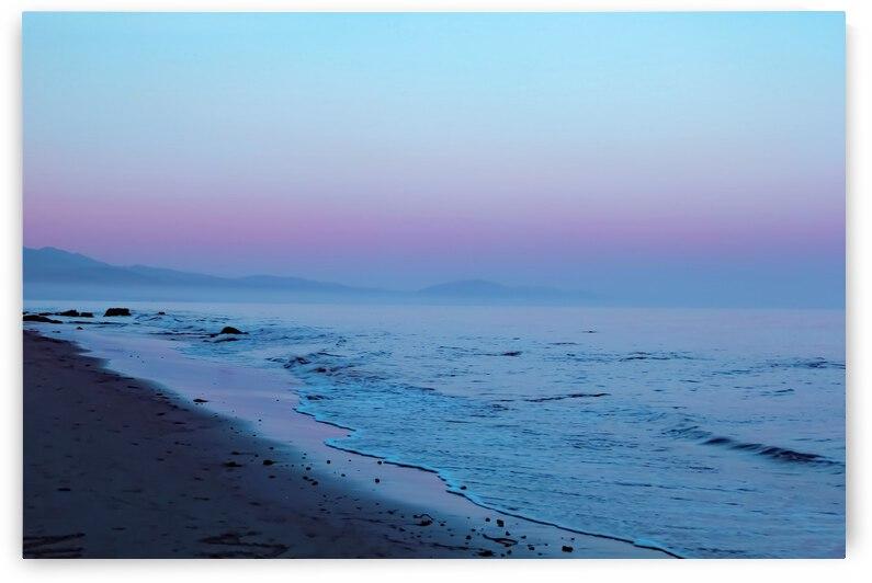 vintage sunset sky at the beach by TimmyLA